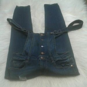 Woman's size 9 dollhouse overall  $ 29.00 # 1163